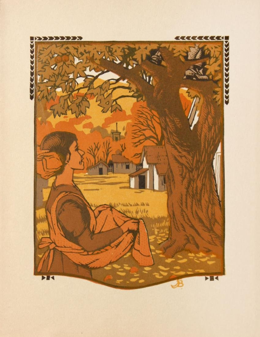 Gustave Baumann - October