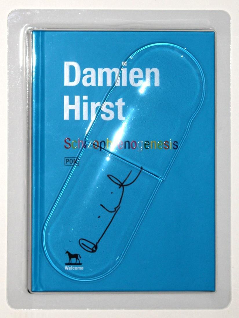 Damien Hirst - Schizophrenogenesis Signed Book in Blist