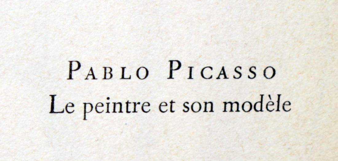 Pablo Picasso - Le peintre et son modele - 2