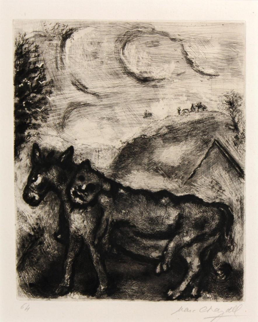 Marc Chagall - The Donket Dressed in the Skin of a Lion