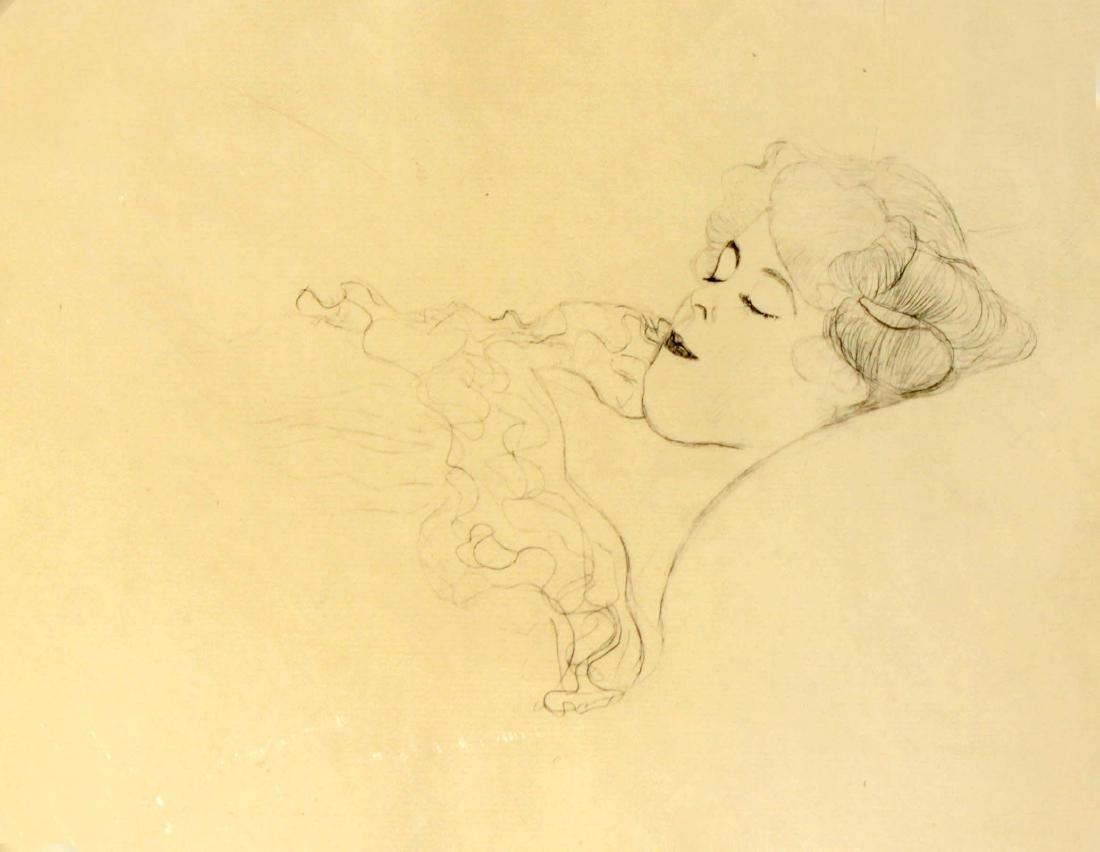 Gustav Klimt - Die Hataregesprach des Lukian