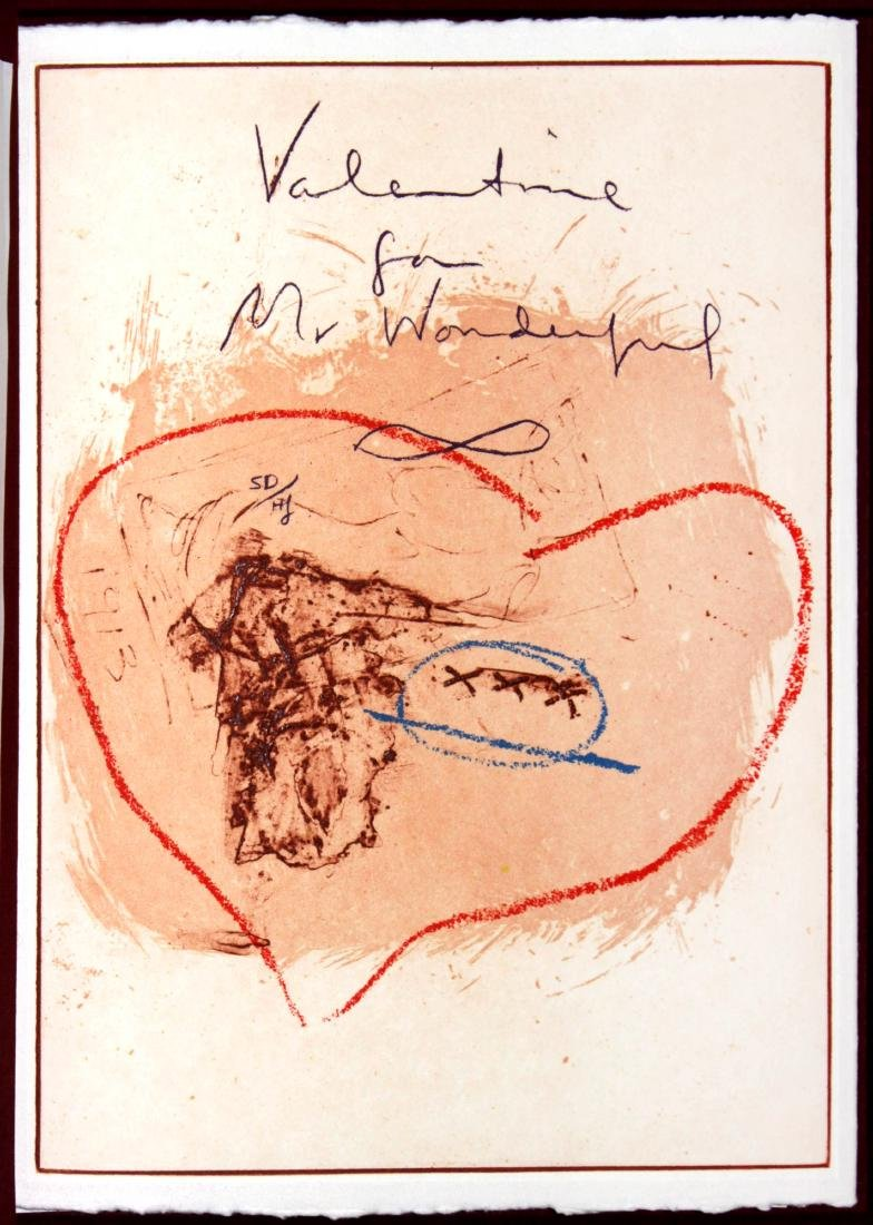 Helen Frankenthaler - Valentine for Mr. Wonderful