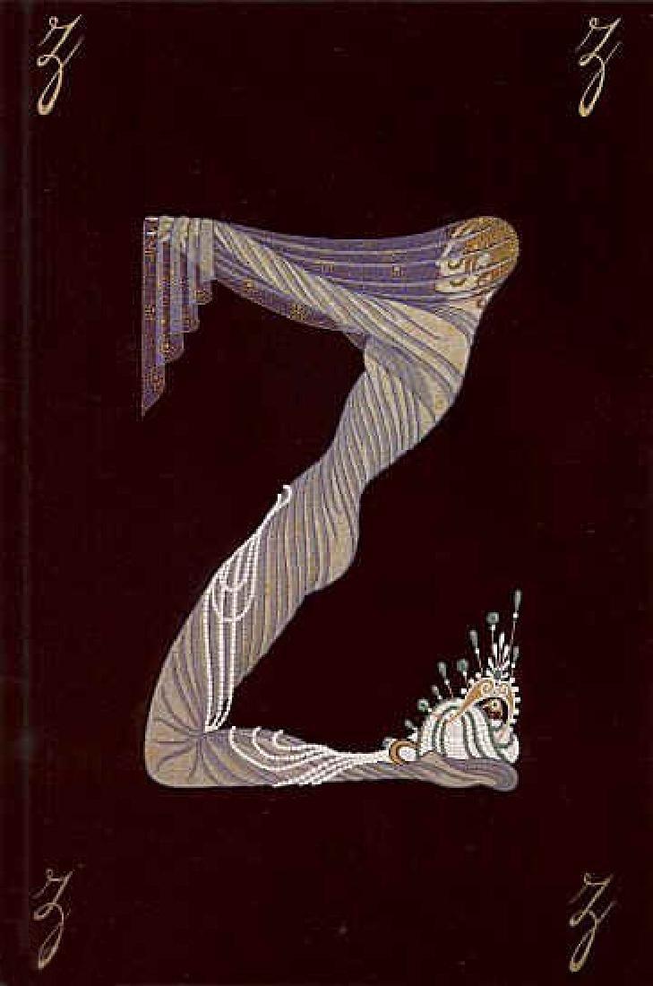 Erte - The Letter Z