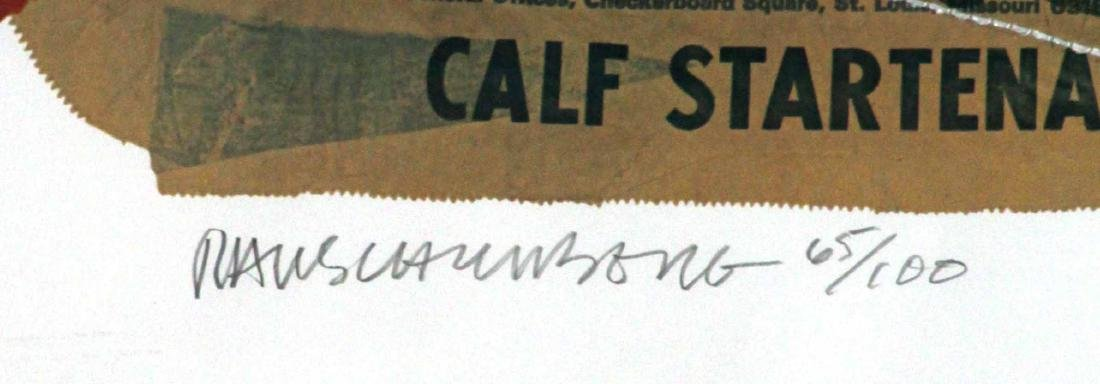 Robert Rauschenberg - Calf Startena (Chow Bag) - 2
