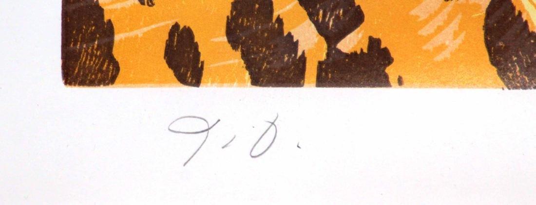Jim Dine - Woodcut Heart - 2