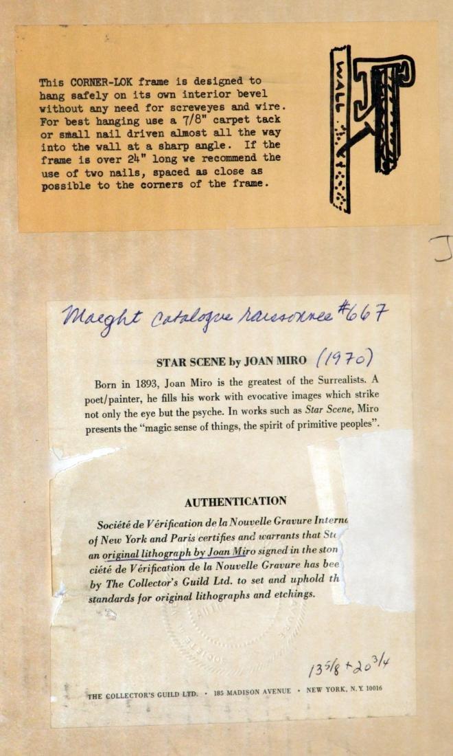 Joan Miro - Star Scene - 3