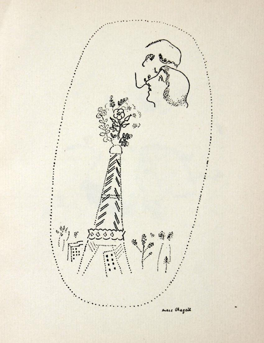 """Marc Chagall - Untitled from """"Love Poems"""""""