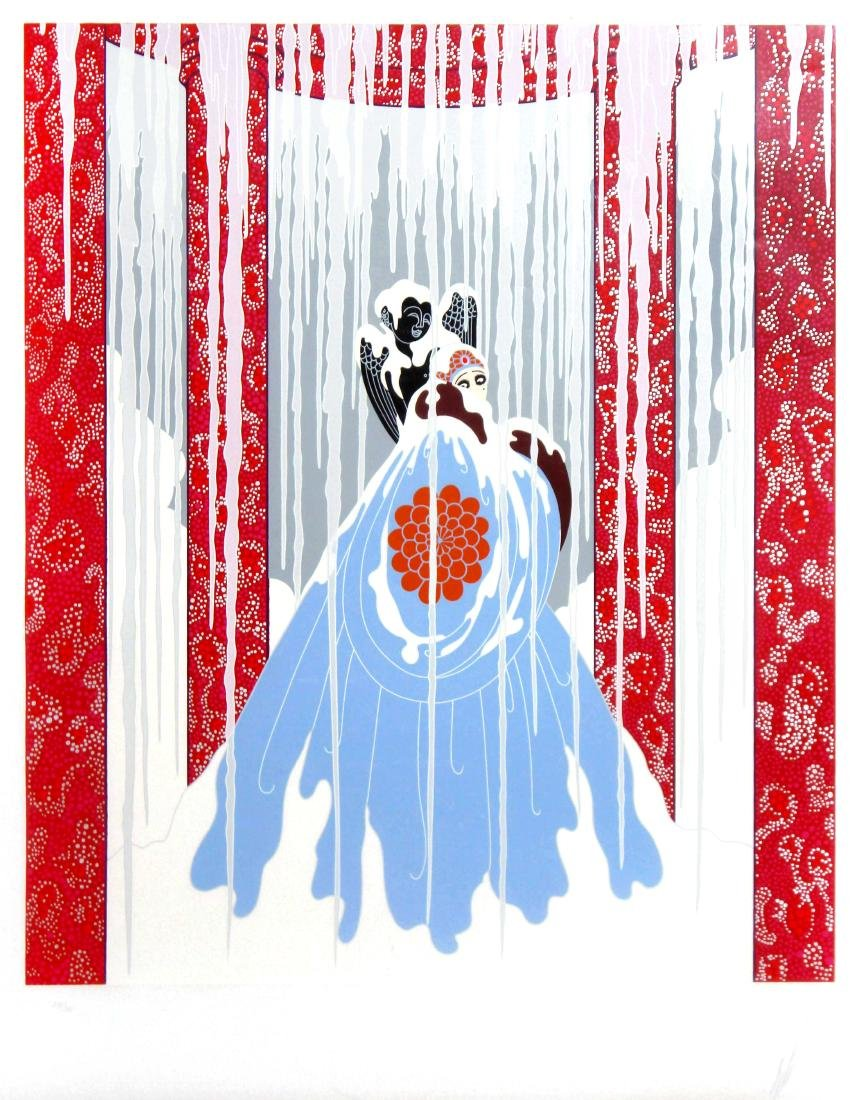 Love's Captive by Erte