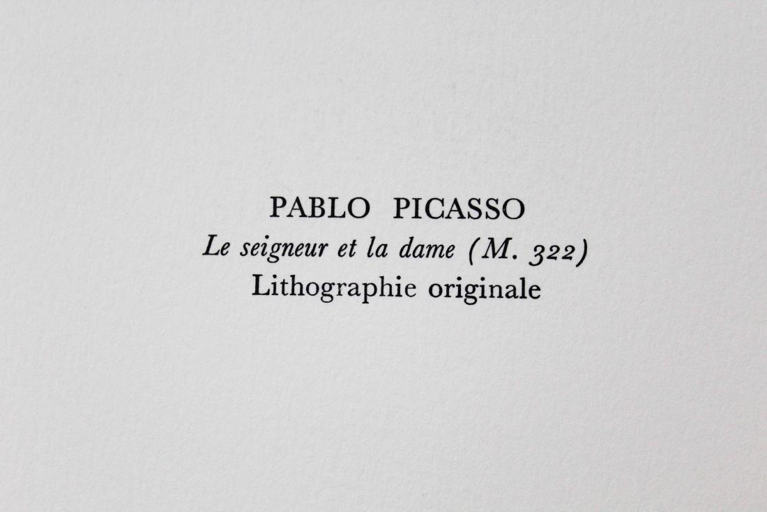 """Pablo Picasso - """"Le Seigneur et la Dame (M. 322)"""" from - 2"""
