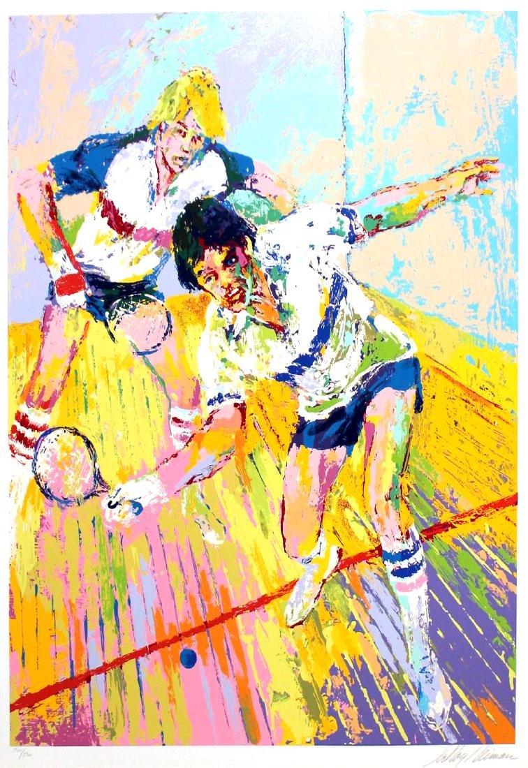 "LeRoy Neiman ""Racquetball"""