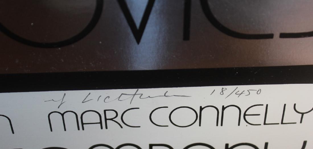 """Roy Lichtenstein """"Merton of the Movies"""" Vintage Signed - 2"""