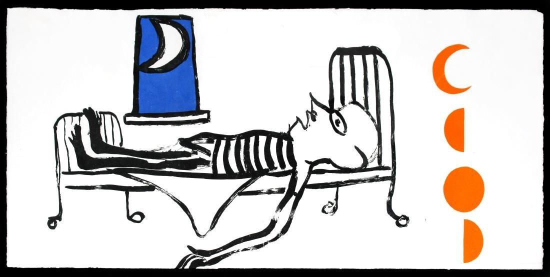 Le Sacrilege d'Alan Kent by Alexander Calder