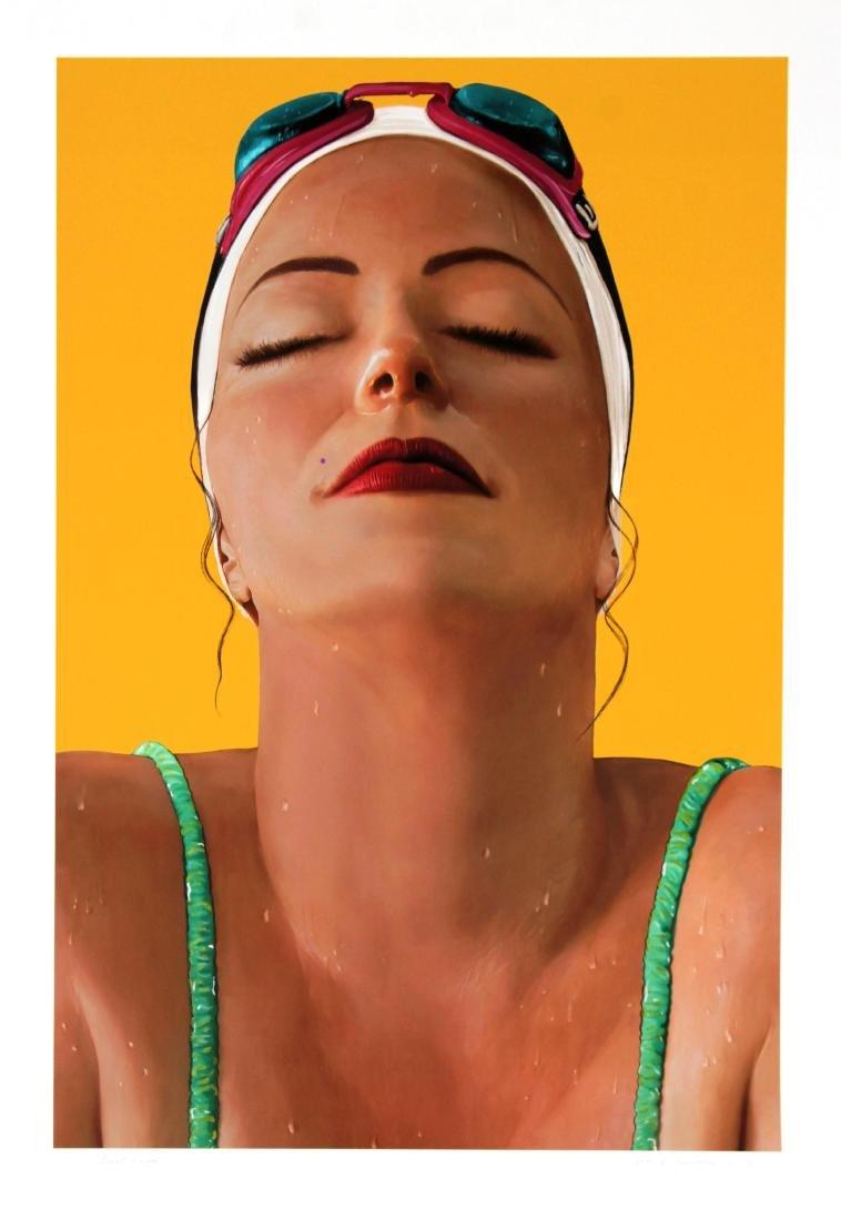 Carole Feuerman - Shower Portrait