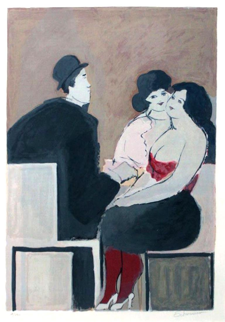 "David Schneuer ""Red Stockings"""