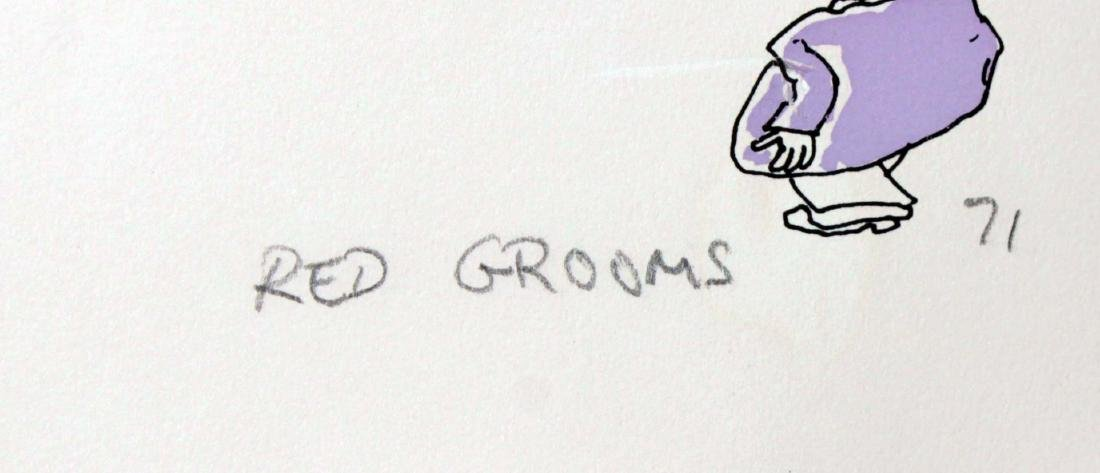 Red Grooms - Discount Store - 2