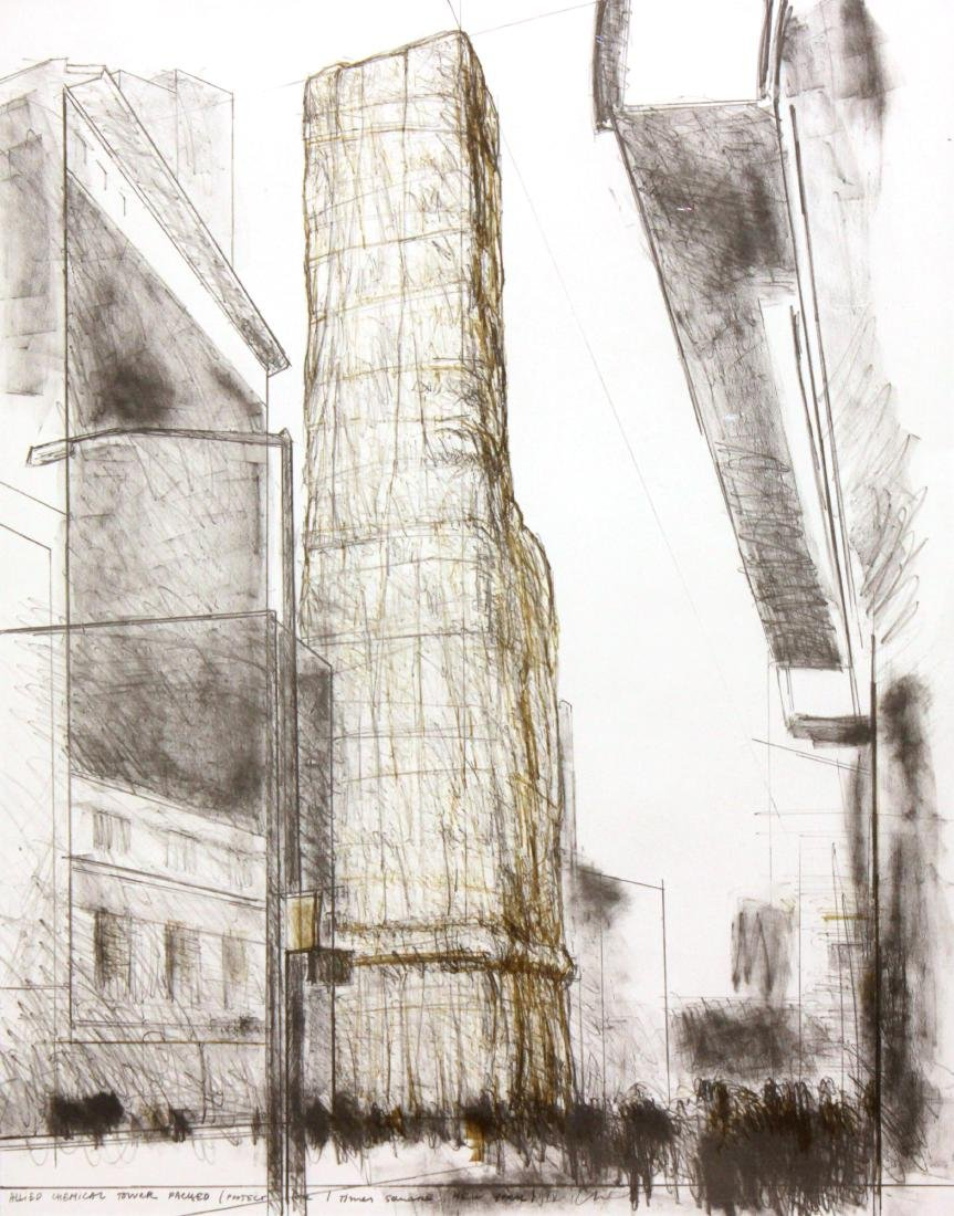 Christo - Allied Chemical Tower Packed Project for