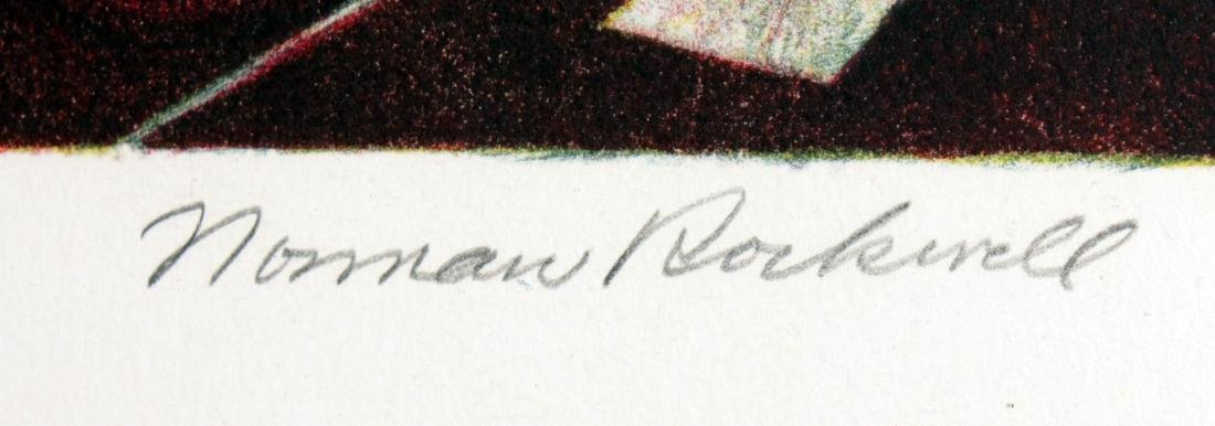 Norman Rockwell - Ye Olde Print Shoppe - 2