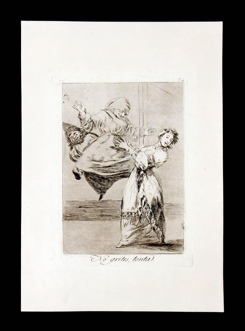 Francisco Goya - No grites tonta