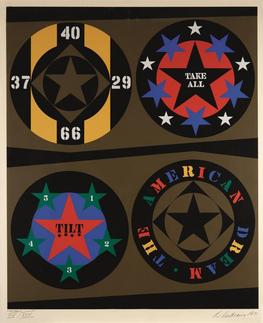 Robert Indiana - Decade IV
