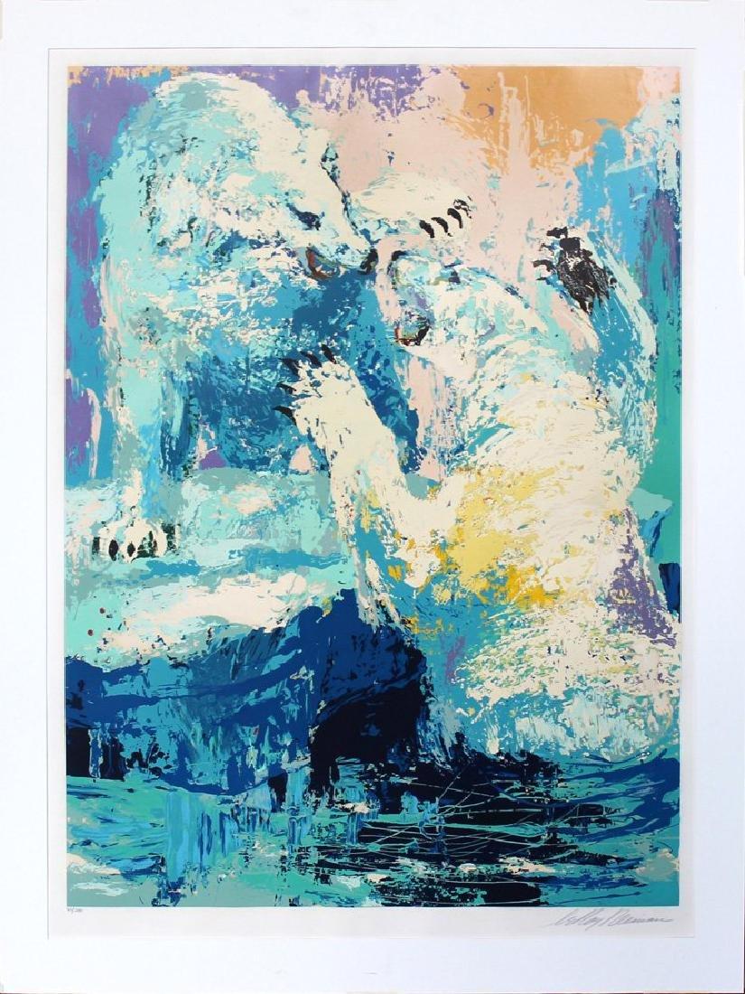 """LeRoy Neiman """"Polar Bears"""""""