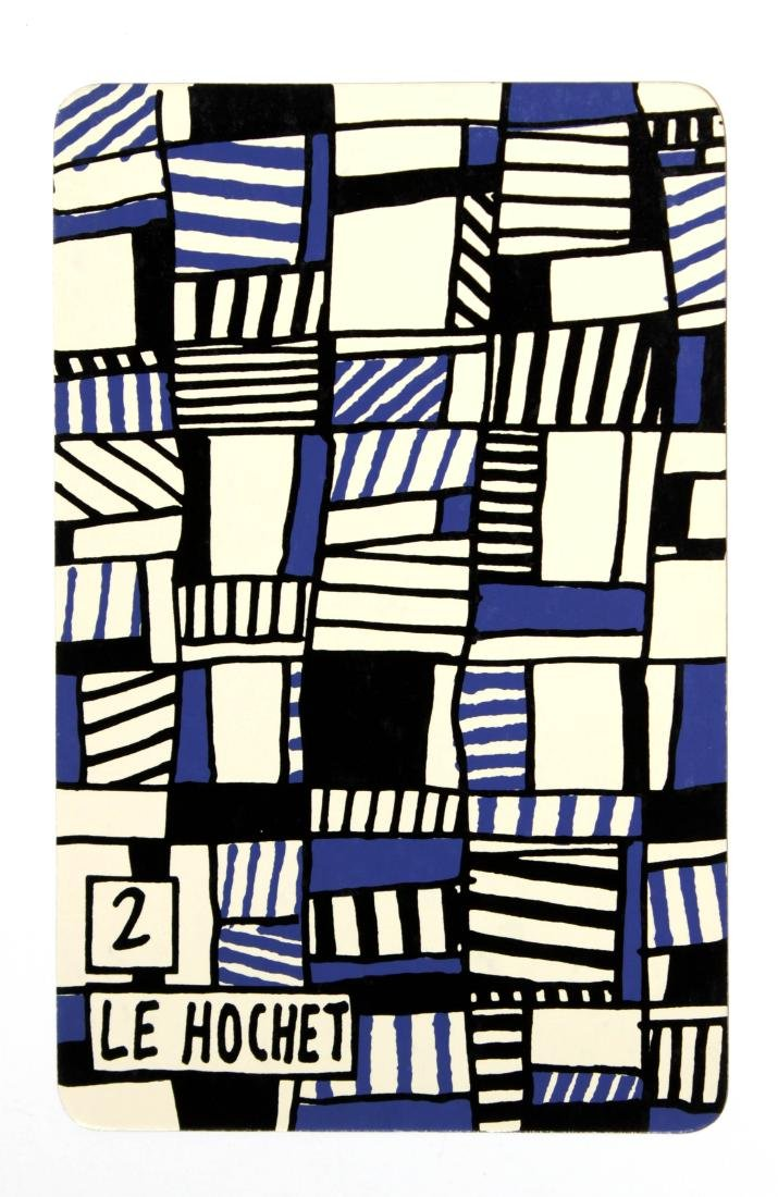 Jean Dubuffet - 2: Le Hochet (from Banque a l'Hourlope) - 2