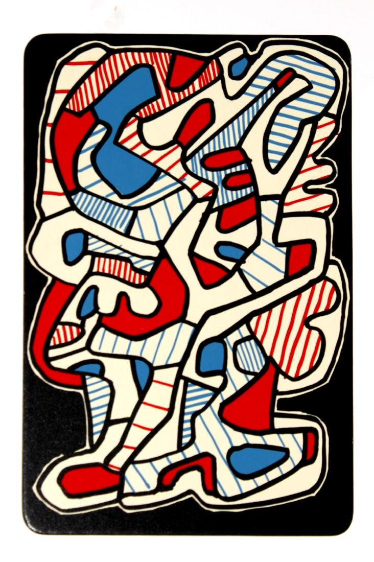 Jean Dubuffet - 1: L'Arbre (from Banque a l'Hourlope)