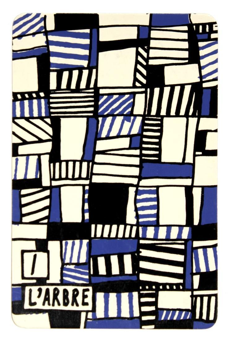 Jean Dubuffet - 1: L'Arbre (from Banque a l'Hourlope) - 2