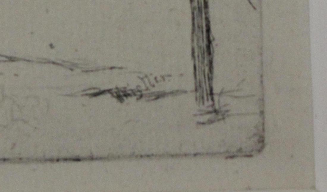 """James Abbott McNeill Whistler """"Old Hungerford Bridge"""" - 3"""