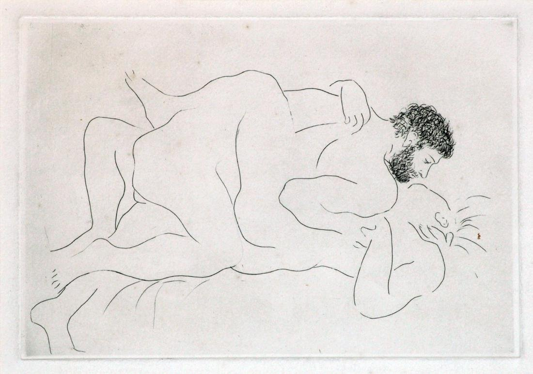 Pablo Picasso - Homme et Femme