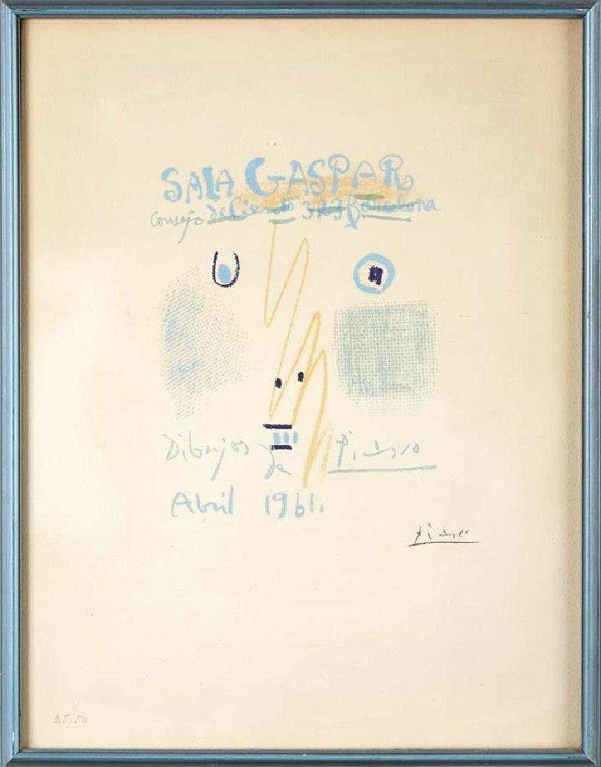 Pablo Picasso - Portada Catalogo