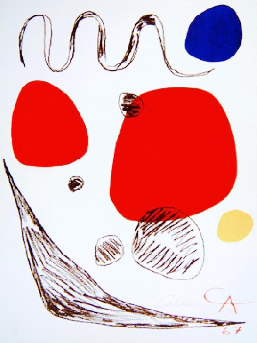 Alexander Calder - Affiche d'Rigard