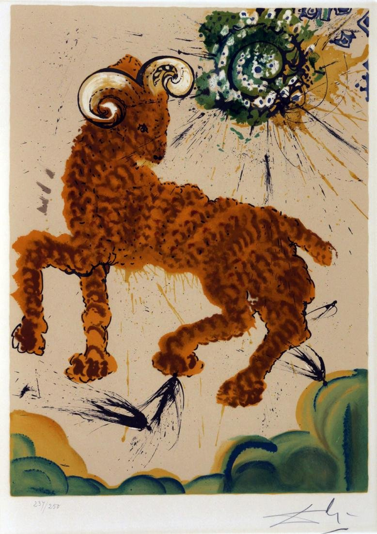 Salvador Dali - Aries