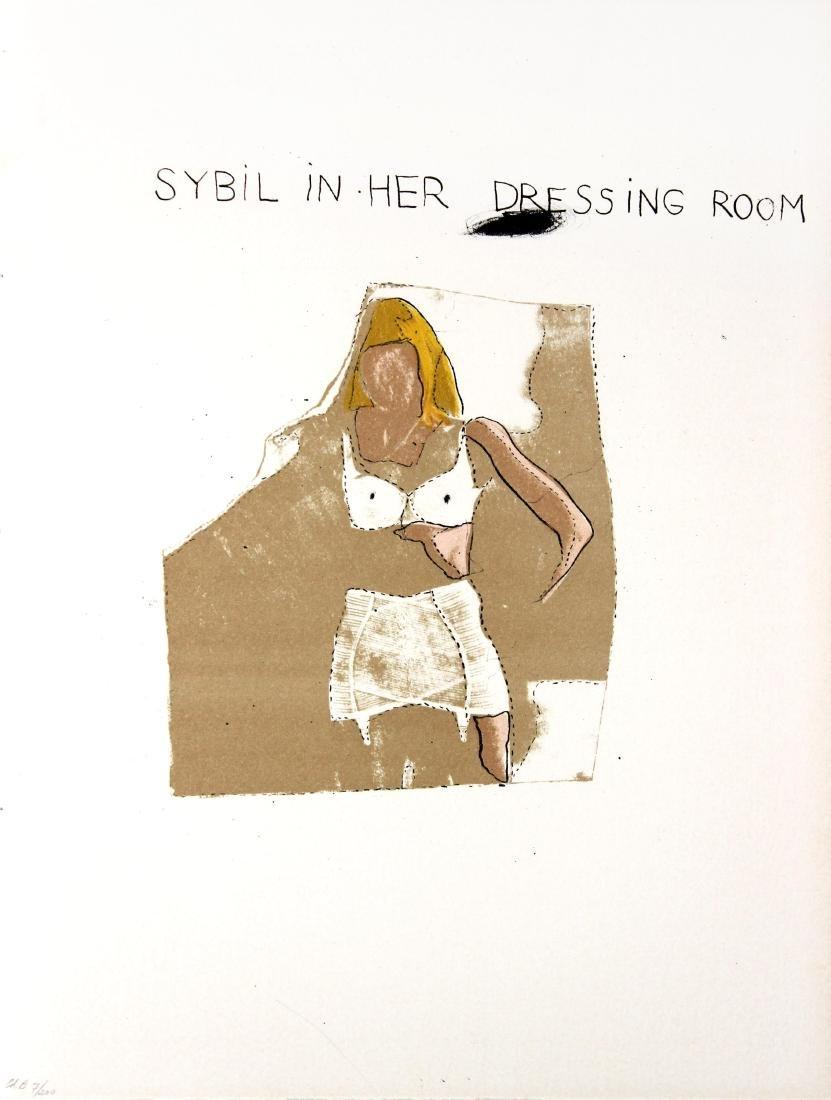 Jim Dine - Sybil in her Dressing Room