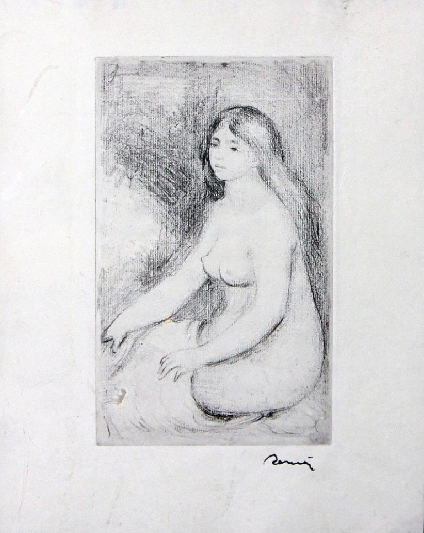 "Pierre-August Renoir ""Baigneuse Assise"" - 2"