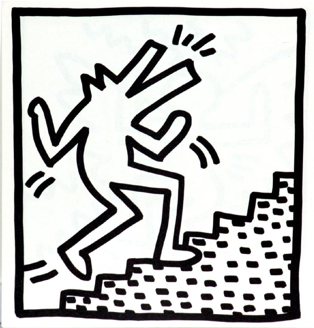 """Keith Haring - Untitled from """"Tony Shafrazi"""" portfolio"""