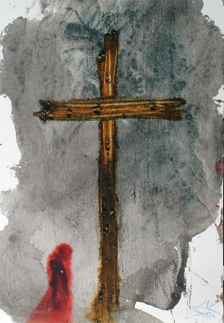 "Salvador Dali - Vere, Hic Homo Iustus, from ""Biblia"