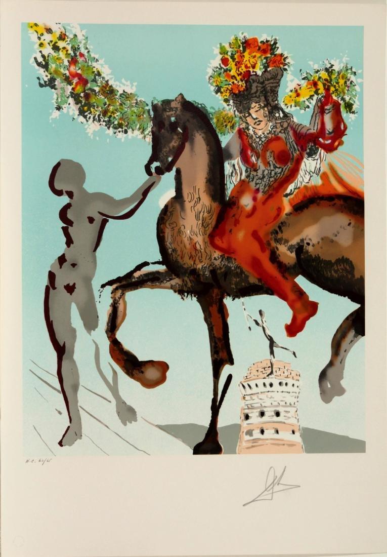 Salvador Dali - The Harbringer