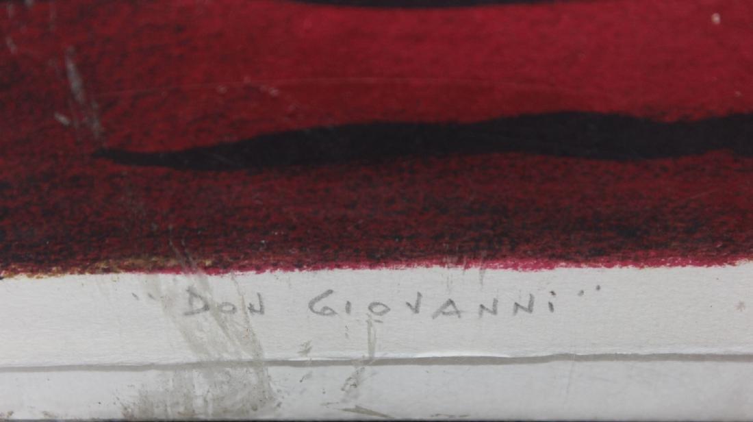 """Andre Masson """"Don Giovanni"""" - 3"""