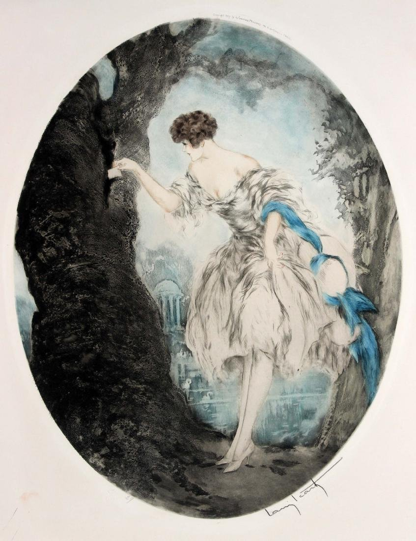 "Louis Icart, ""Hiding Place"""
