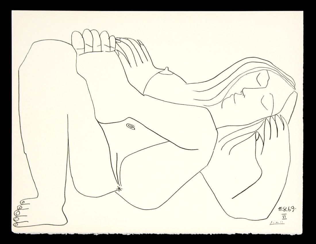 Pablo Picasso - Femme Nue I (11.8.69)
