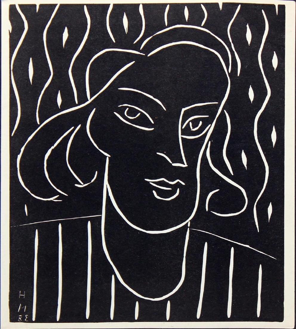 "Henri Matisse ""Portrait of a Woman"" - 2"