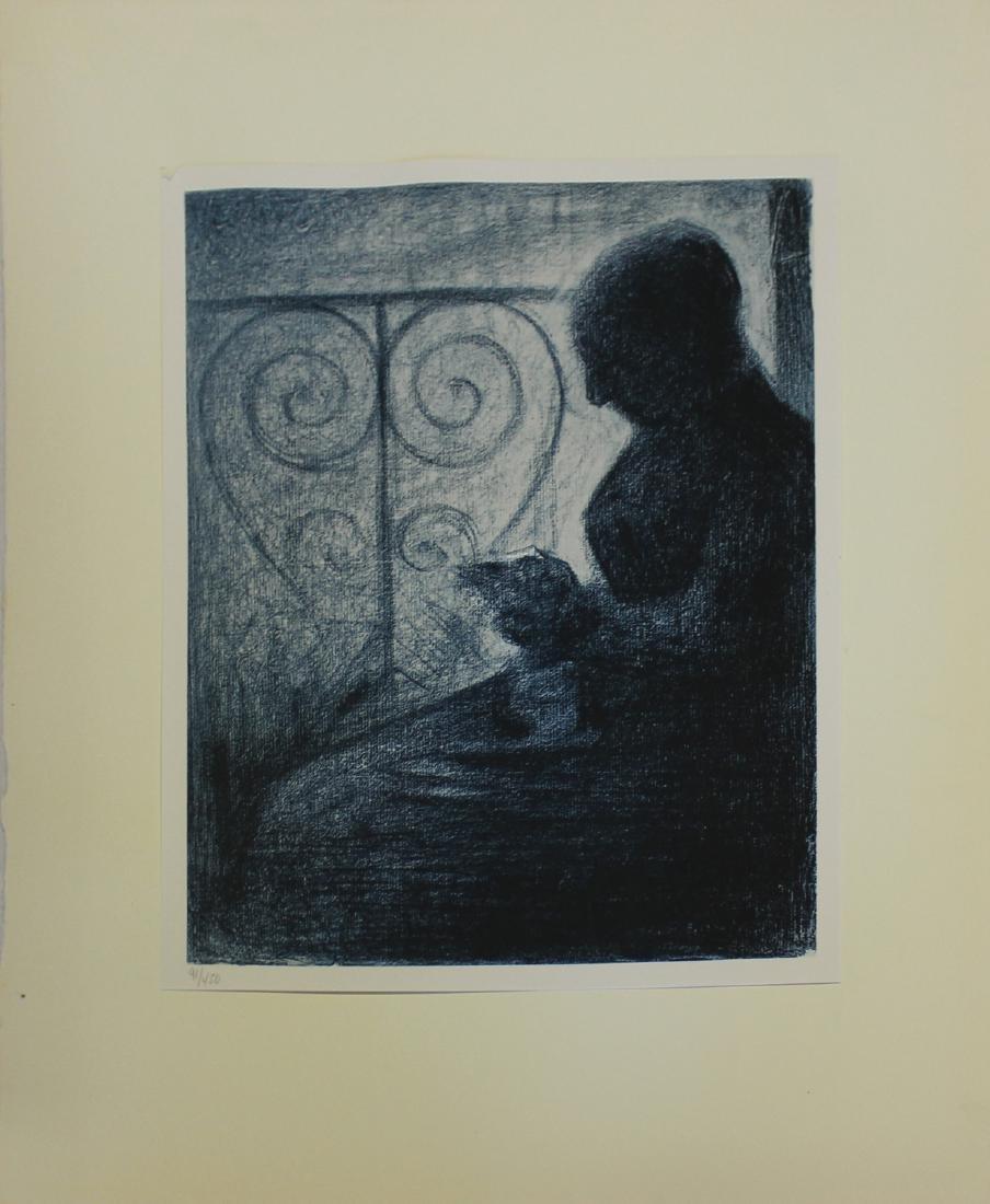 """Seurat """"Pastello Musee du Louvre Paris"""""""