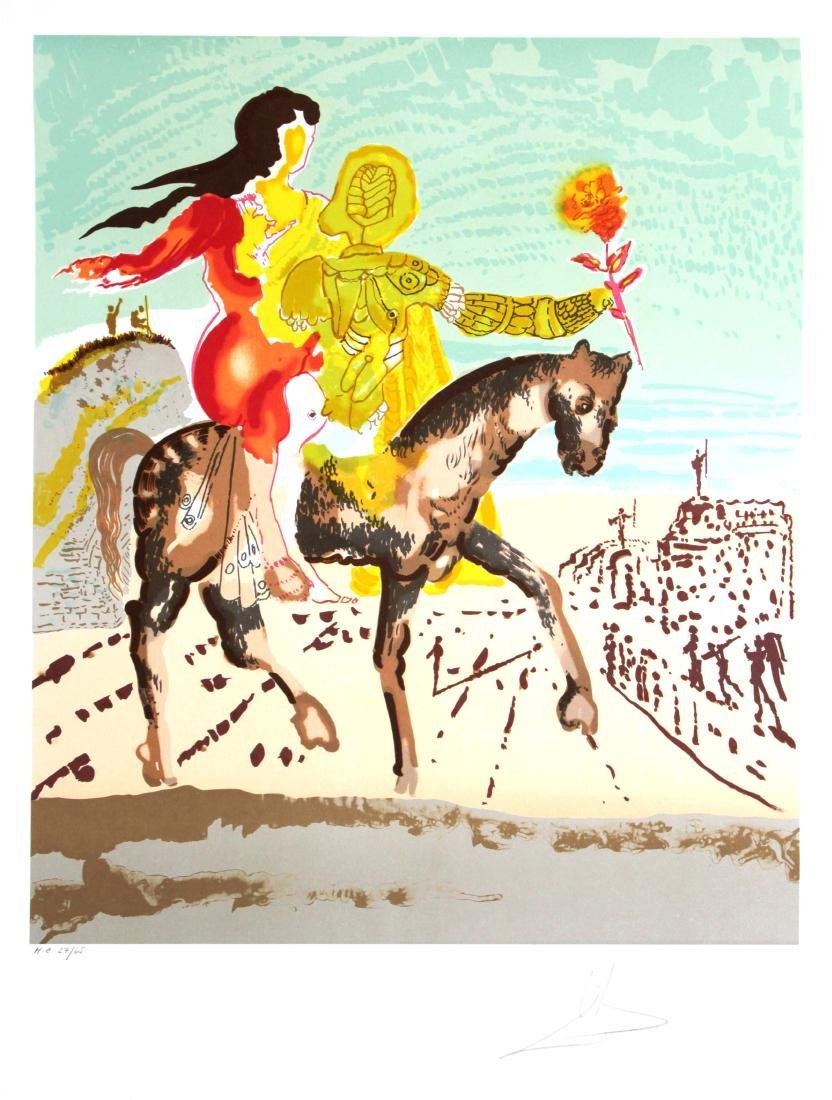 Salvador Dali - Woman Leading Horse