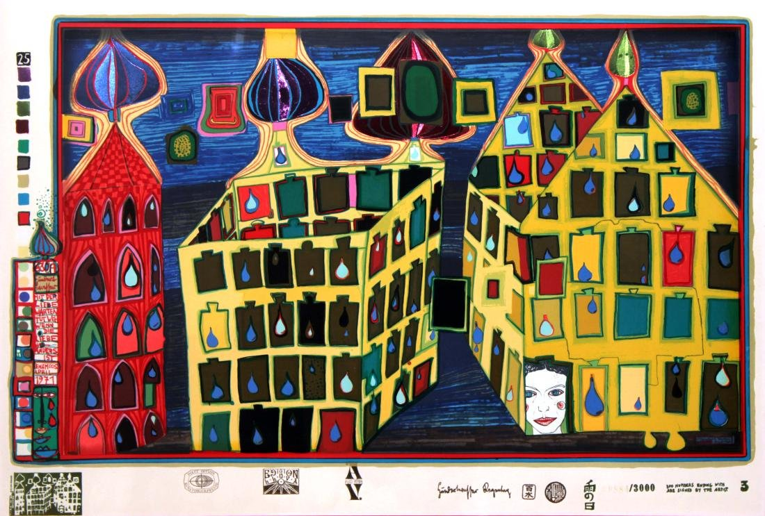 Freidensreich Hundertwasser - It Hurts To Wait With