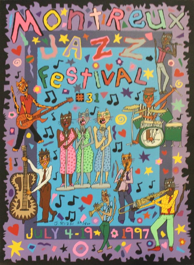 "James Rizzi ""Montreux Jazz Festival"""