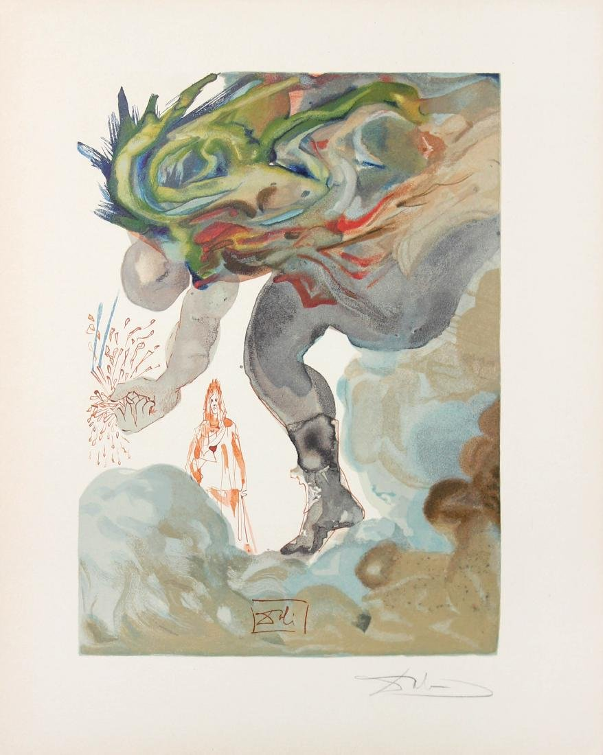 The Prophecy of Vanni Fucci by Salvador Dali