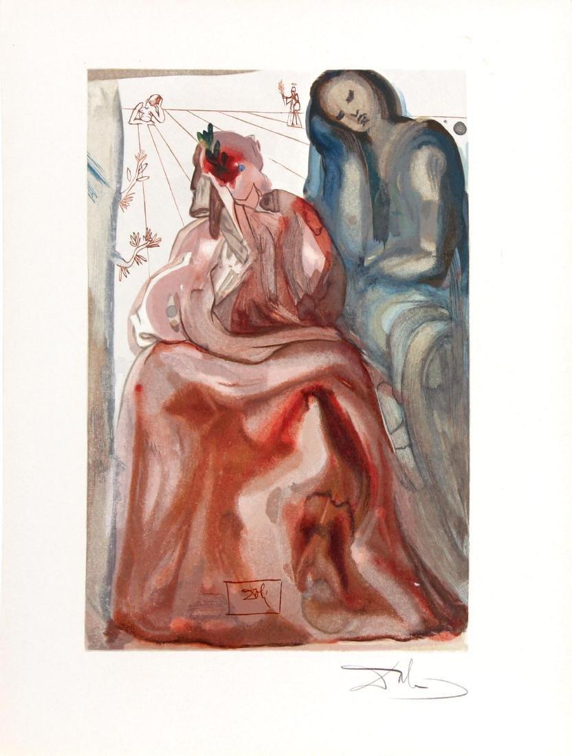 Dante Reawakens  by Salvador Dali