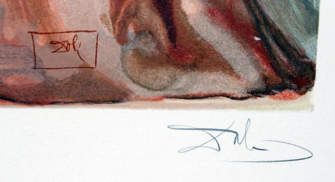 Dante Reawakens  by Salvador Dali - 2