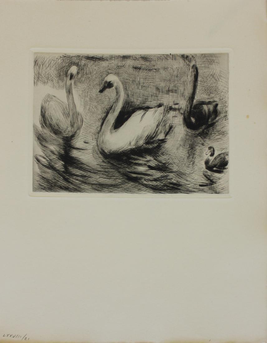 "Berthe Morisot ""Untitled (Swans)"""