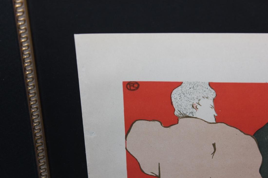 """Henri de Toulouse-Lautrec """"Un Monsieur et une Dame, - 3"""